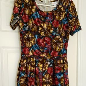 Amelia dress with pockets floral